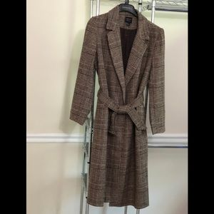 NWOT Forever 21 Open Front Trench Coat Size Medium